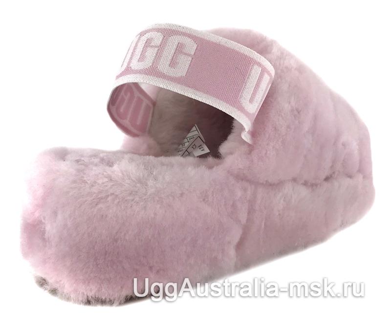 UGG Fluff Yeah Slide Rose