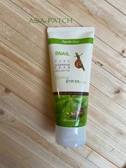 Пенка очищающая с экстрактом улитки FarmStay Snail Pure Cleansing Foam, 180 мл