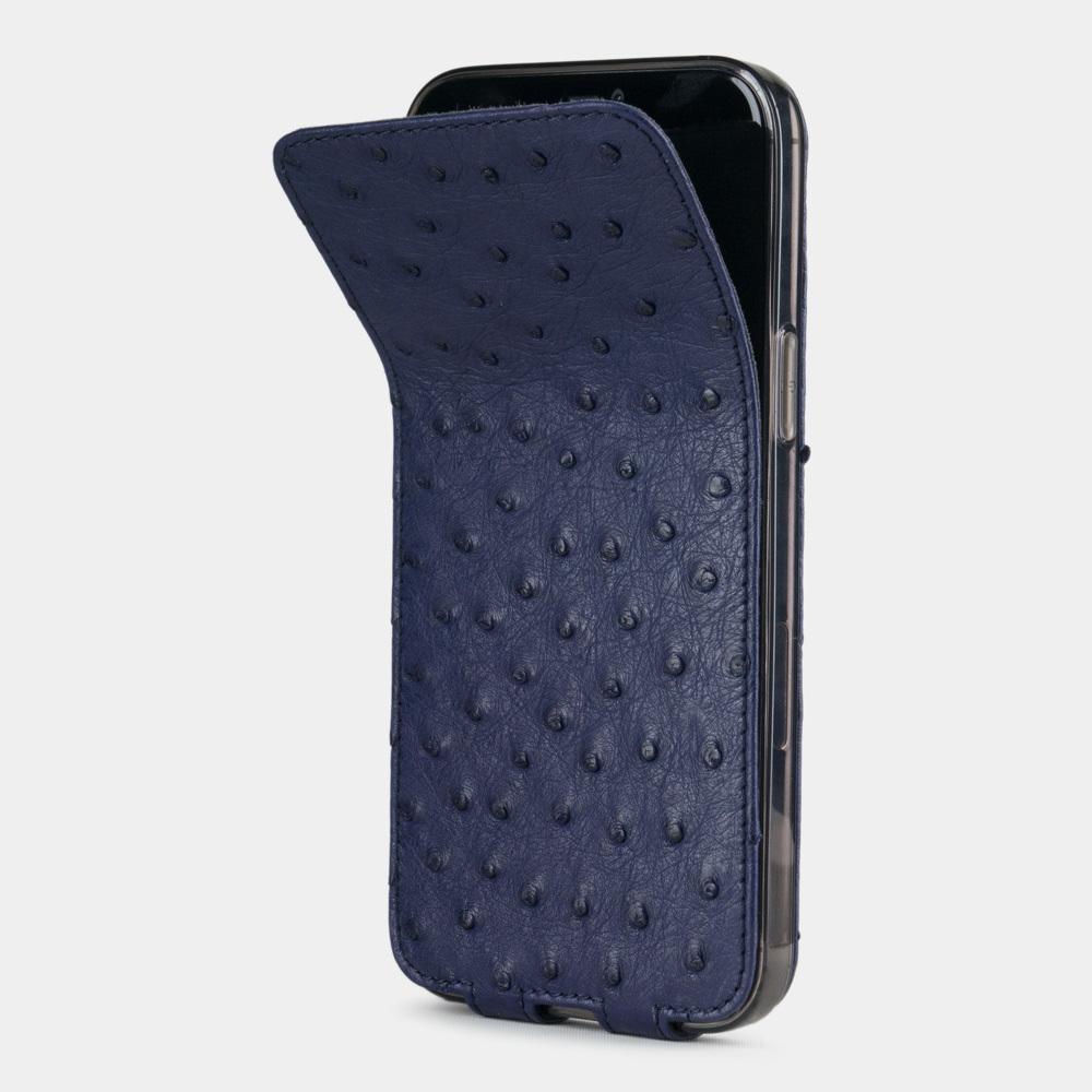 case iphone 12 pro max - ostrich blue