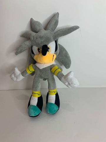 Мягкая игрушка Силвер серый (Соник)