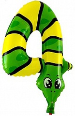 К Цифра, 4 Змея, с клапаном (16''/41 см), 1 шт.