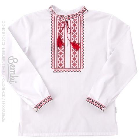 РБ51 Рубашка для мальчика лен