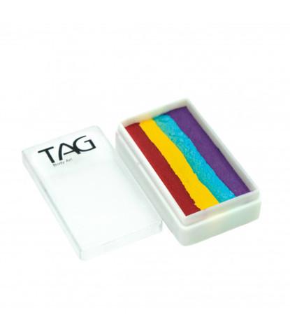 Аквагрим TAG 30 гр Сплит-кейк Четырехцветная радуга