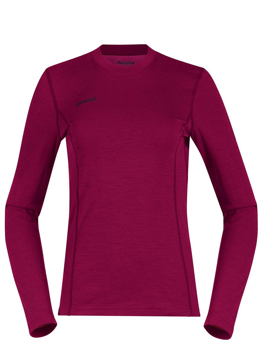 Bergans термобелье футболка 1865 Akeleie Lady Shirt  Beet Red/Raspberry