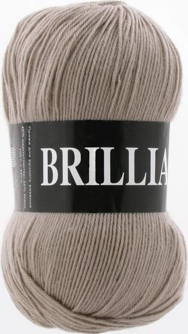 Пряжа Vita Brilliant холодный бежевый 4966