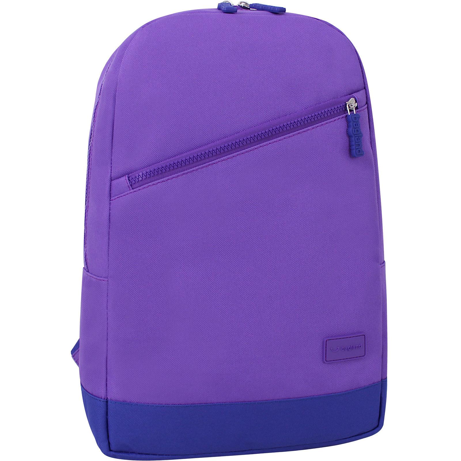 Городские рюкзаки Рюкзак Bagland Amber 15 л. фиолетовый/электрик (0010466) IMG_9788_170._електрик_.JPG