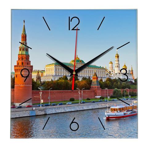 Часы на стену с рисками Москва 18 01