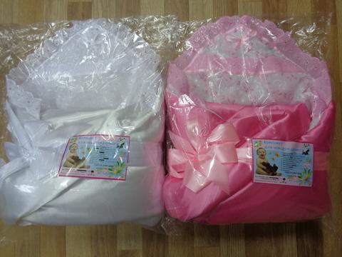 Комплект с одеялом д/выписки № 5 (атлас) ЗИМА