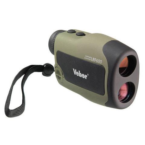 Лазерный дальномер Veber 6x25 LRF600 green
