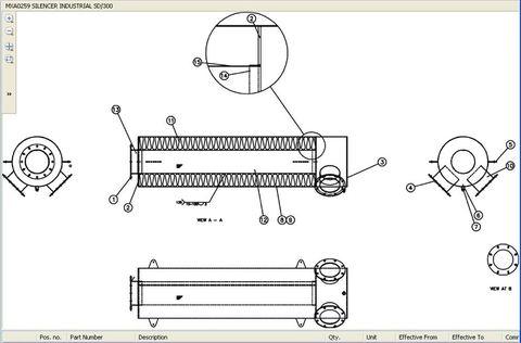 Глушитель промышленный SD300 для P1250- Р1700Р1 / SILENCER АРТ: MXA0259/AL