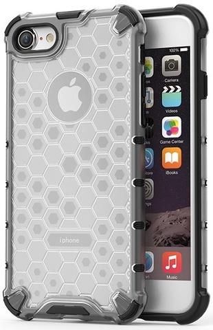 Чехол прозрачный на iPhone 7 и iPhone 8, ударопрочный  от Caseport, серия Honey