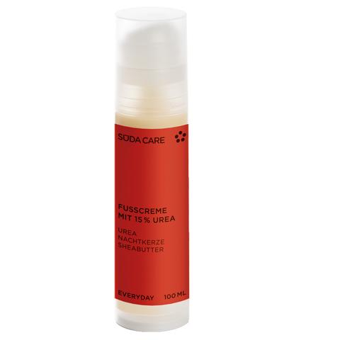 SUDA Уход за ногами и ступнями: Крем для сухой и грубой кожи стоп (Fusscreme mit 15% Urea)