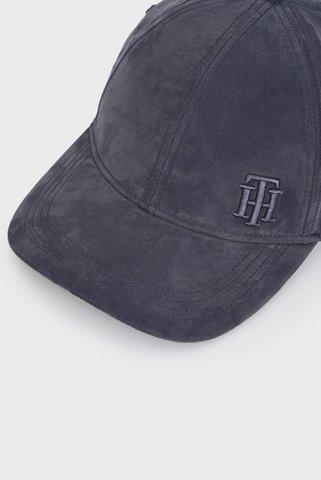 Женская темно-синяя кепка TH LOGO Tommy Hilfiger