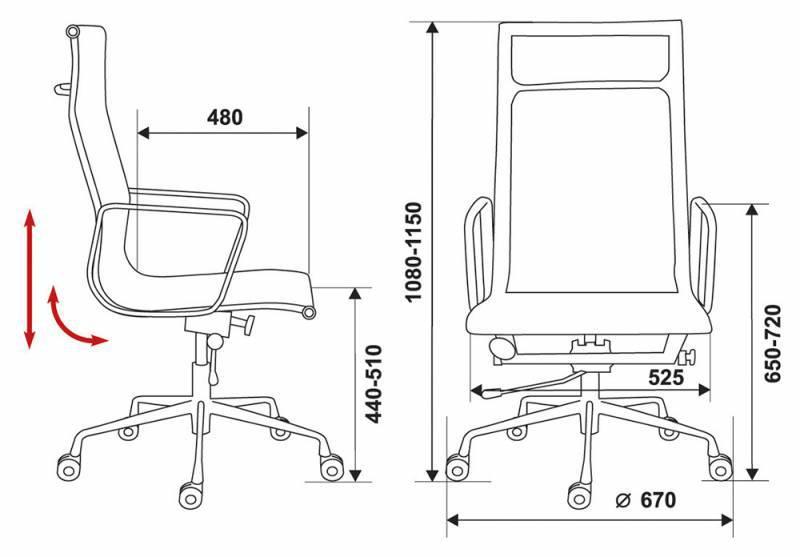 Кресло для руководителя CH-996