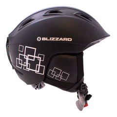 Горнолыжный шлем Blizzard Demon black matt/silver squares