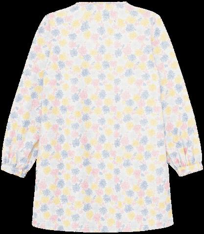 Платье в цветной принт
