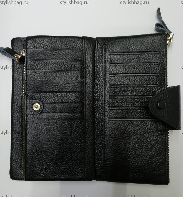 Кожаный бумажник JCCS j-3060black2