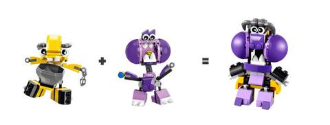 LEGO Mixels: Снакс 41551 — Snax — Лего Миксели