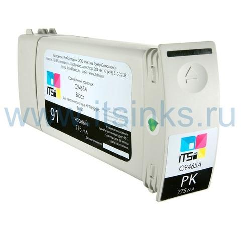 Картридж для HP 91 (C9465A) Photo Black 775 мл