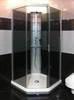 Душевая кабина профиль серебристый, стекло тонированное 90x90 IDO Showerama 8-5