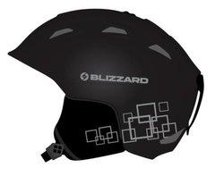 Горнолыжный шлем Blizzard Demon black matt/silver squares - 2