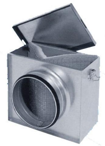 Фильтр прямоугольный под кассетные фильтры Dvs FSL d 315 +карманный фильтр