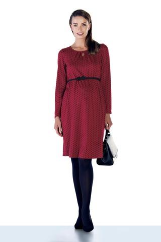 Платье для беременных 09131 красный