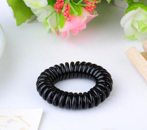 Резинка - пружинка (чёрная)