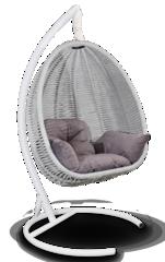 Подвесное кресло Coimbra White