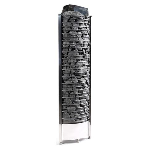 Электрическая печь SAWO TOWER TH3-35NI2-CNR-P (3,5 кВт, выносной пульт, встроенный блок мощности, нержавейка, угловая)