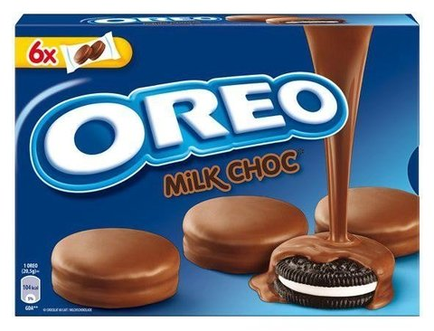Печенье Oreo Choc Milk Орео покрытое молочным шоколадом 246 гр