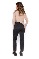 """<p>Модные брюки """"Такки"""" - одна из самых востребованных моделей, как в деловом, так и в повседнесном мире. Удобная посадка, на поясе резинка.</p>"""
