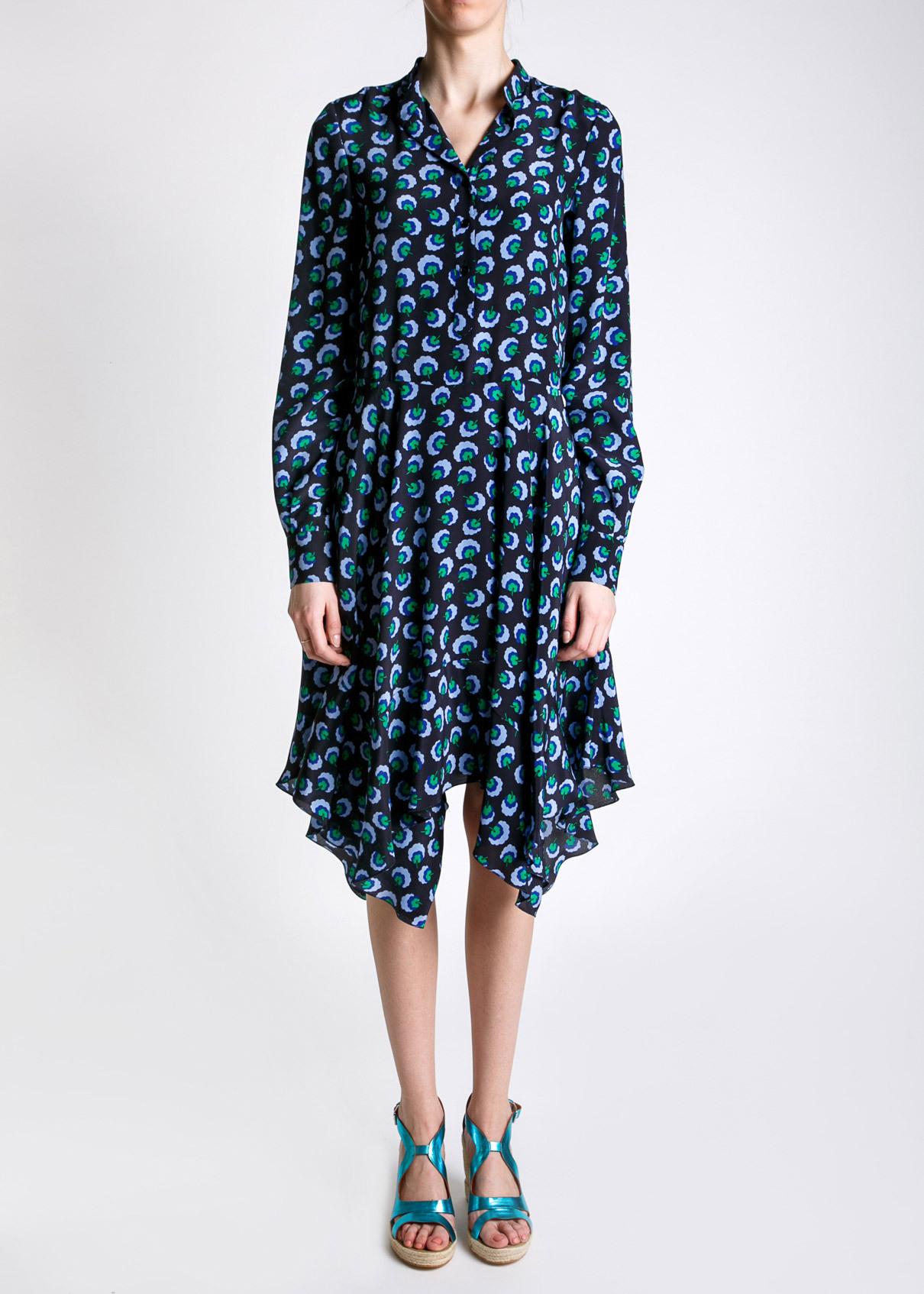 Платье из шелка STELLA MCCARTNEY