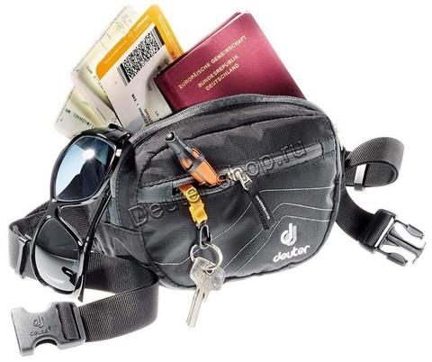 Картинка сумка поясная Deuter Organizer Belt dresscode-black - 2