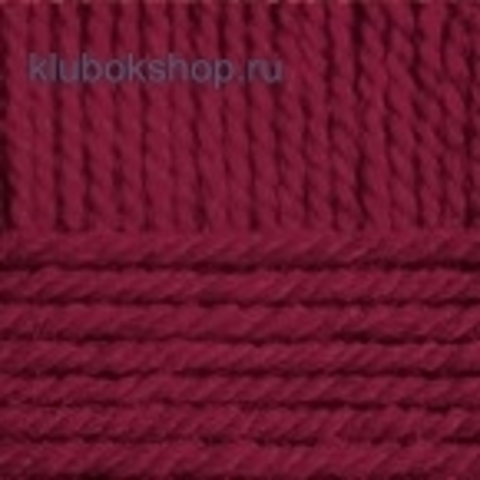 Пряжа Популярная (Пехорка) цвет 07 бордо