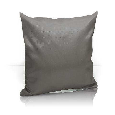 Подушка декоративная жаккард Элегия темно-коричневый