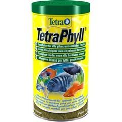 Корм для всех видов рыб, TetraPhyll, растительные хлопья
