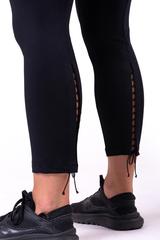 Женские лосины Nebbia lace-up 7/8 leggings 661 black