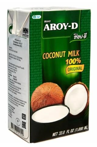 Молоко кокосовое Aroy-D Original 60% 17%, 1 л