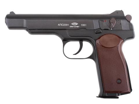 Страйкбольный пистолет APS-A blowback (Стечкин)