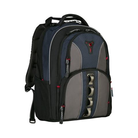 Городской рюкзак чёрно-синий 23 л WENGER Cobalt 600629