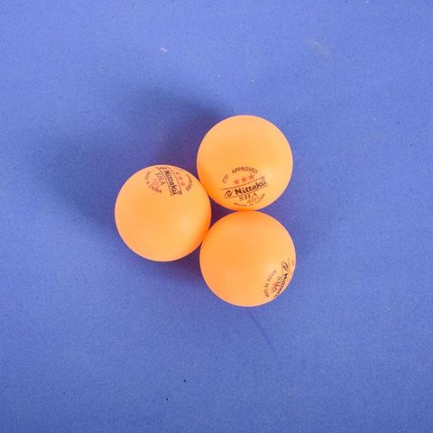 Мячи для настольного тенниса в коробке 3шт/уп