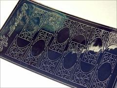 Металлизированные наклейки Arti nails Stiker цвет серебро №10