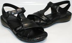 Модные летние босоножки Evromoda 15 Black.