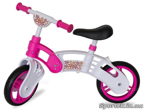 Беговел Small Rider 2014 біло-рожевий