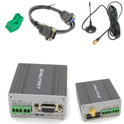 Bitcord CT-2-05 KIT, промышленный GSM/GPRS модем с Python