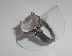 Кольцо с розовым кварцем, p.19,1