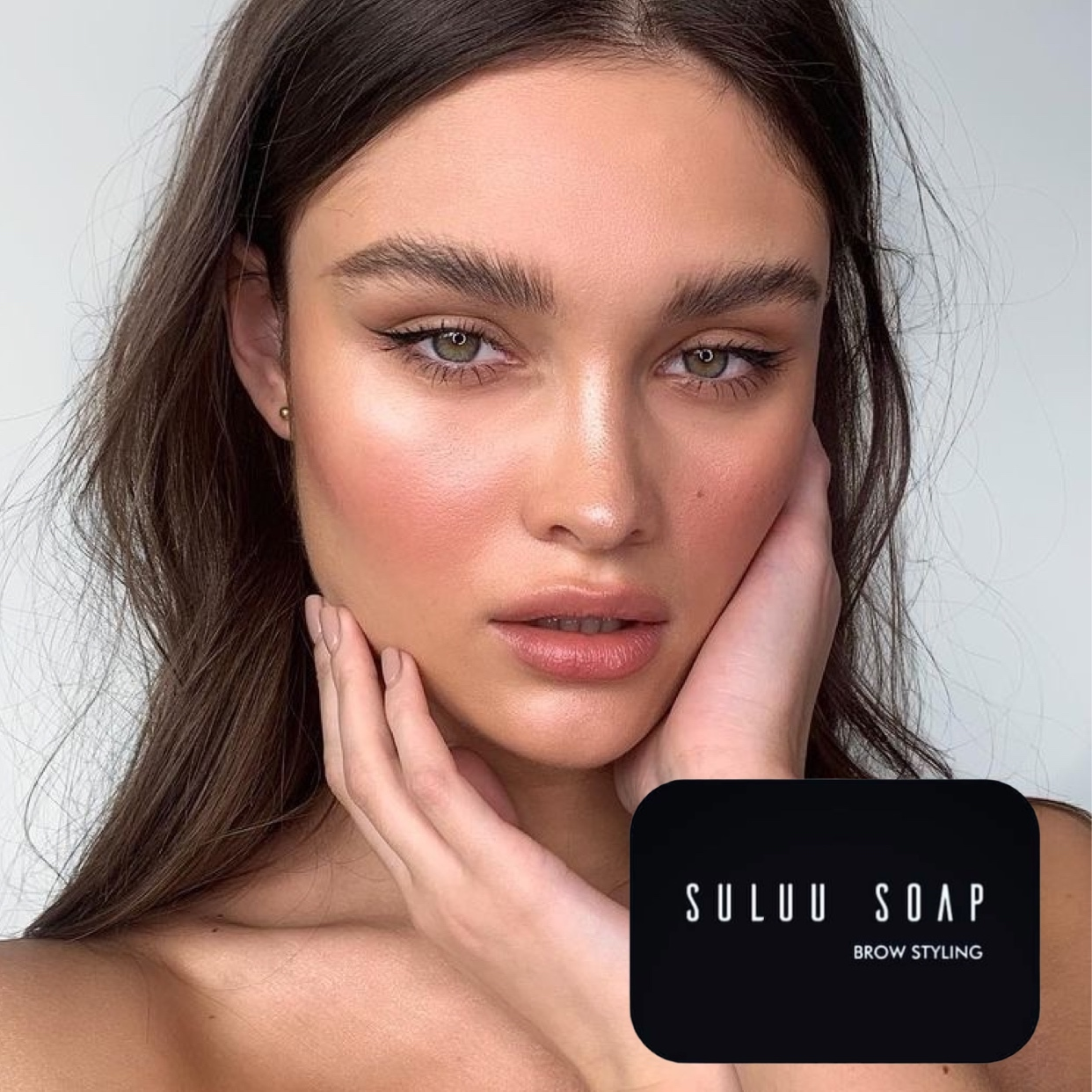 Мыло для бровей Suluu Soap Classic прозрачный