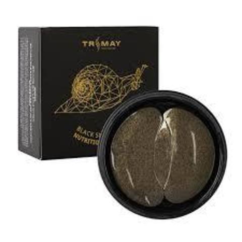 Пачти С Муцином Чёрной  Улитки И Золотом TRIMAY Black Snail Gold Nutrition Eye Patch