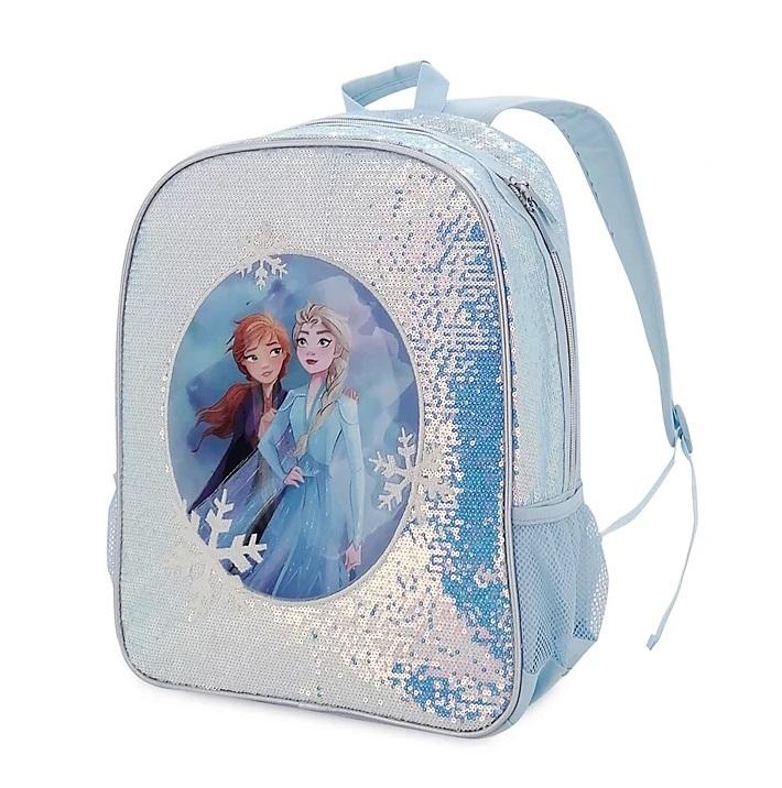 Школьный рюкзак Эльза Холодное сердце Дисней с пайетками 40 см